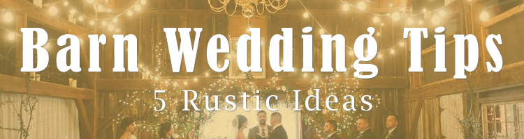 LED Light Ideas for a Barn Wedding